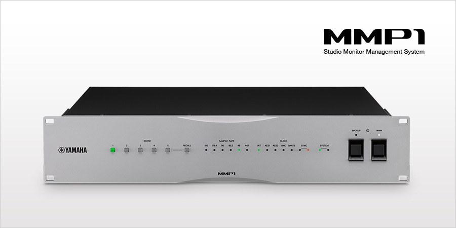 Yamaha Mmp1 A New Standard In Studio Monitor Control