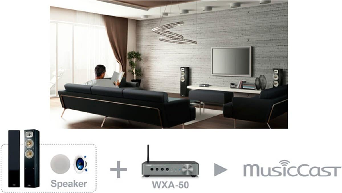 Musiccast Wxa 50 Features Wireless Streaming Amplifiers