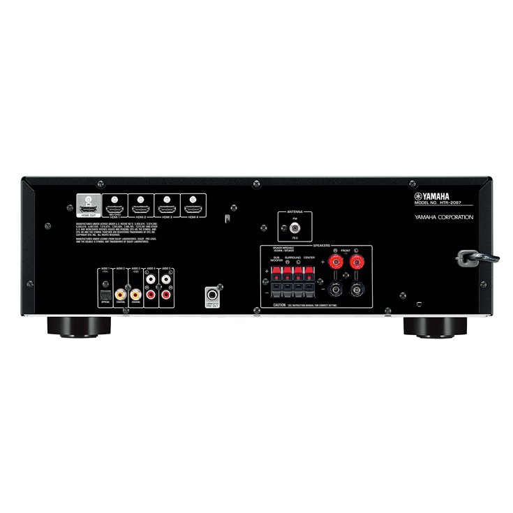 Yht 1810 overview home theater systems audio for Yamaha 7 2 home theatre system