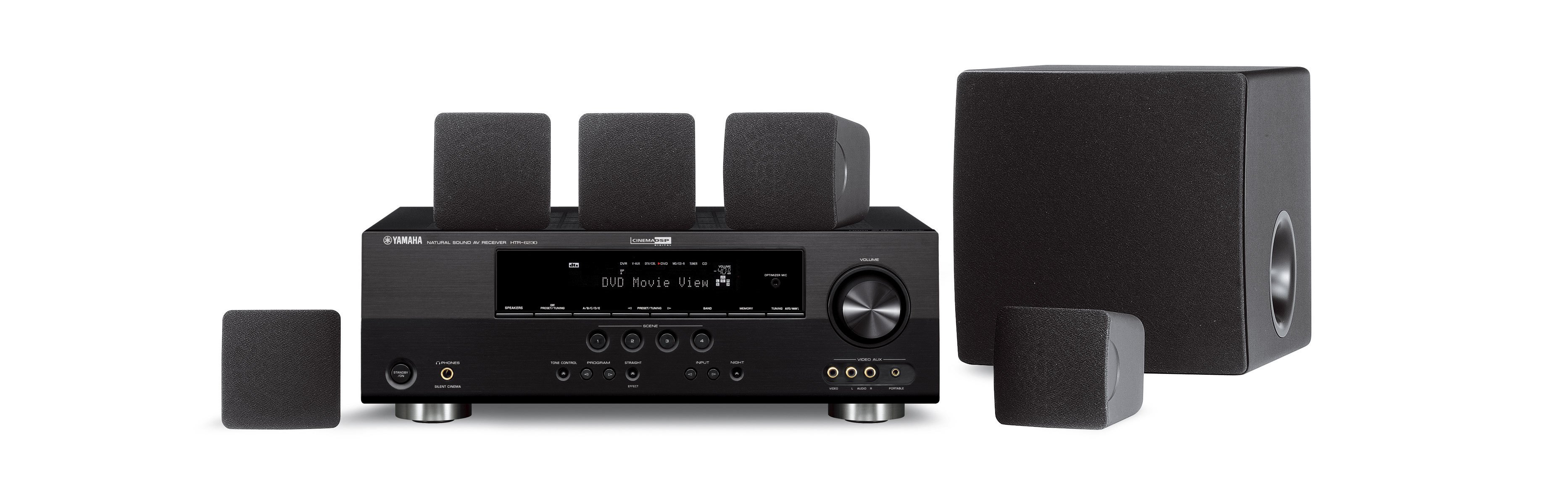 Yht 292 overview home theater systems audio visual for Yamaha sound system