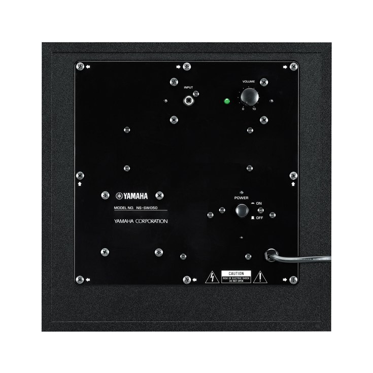 Ns sw050 overview speaker systems audio visual for Yamaha warranty registration