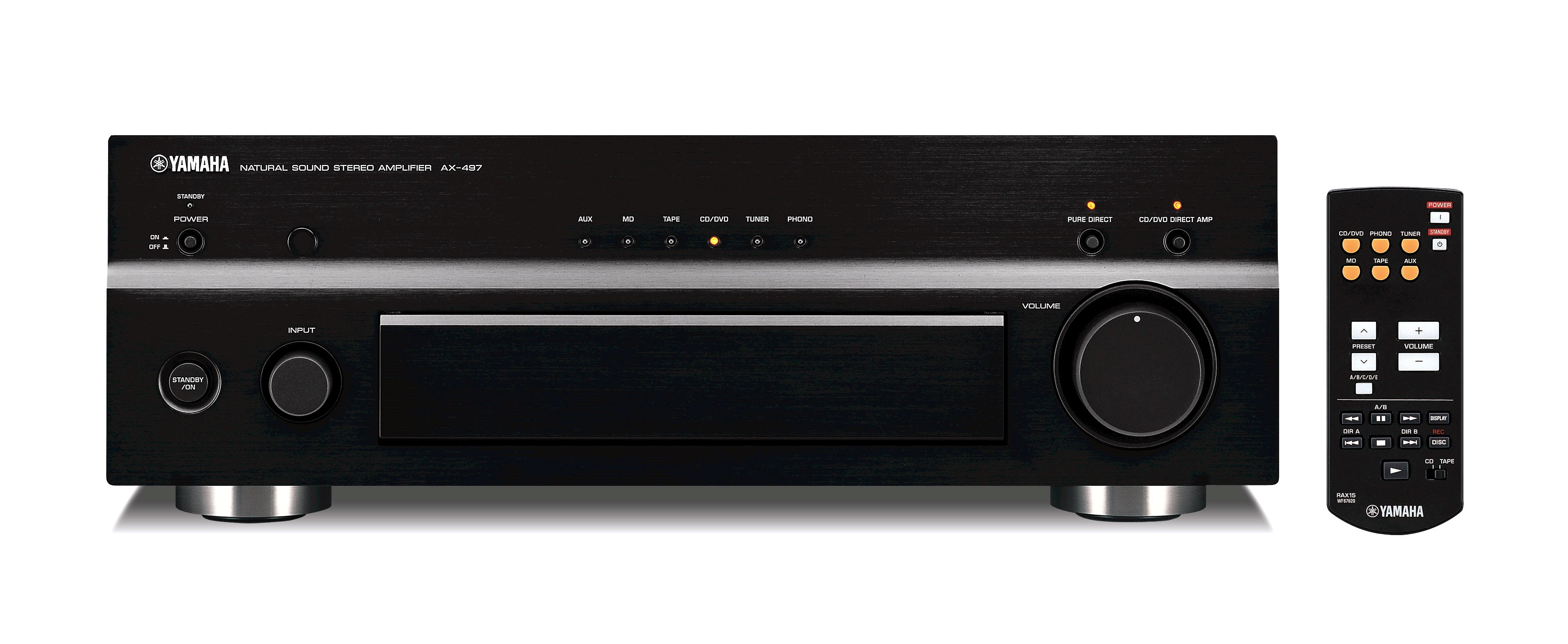 Ax 497 overview hifi components audio visual for Yamaha pure direct