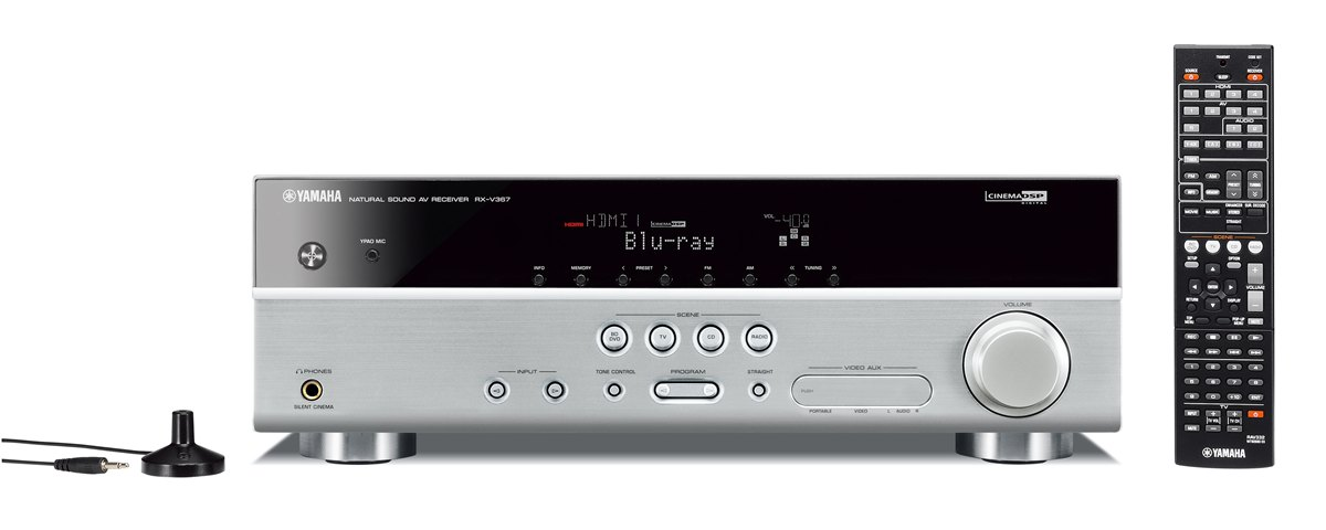 Rx V367 Specs Av Receivers Audio Visual Products