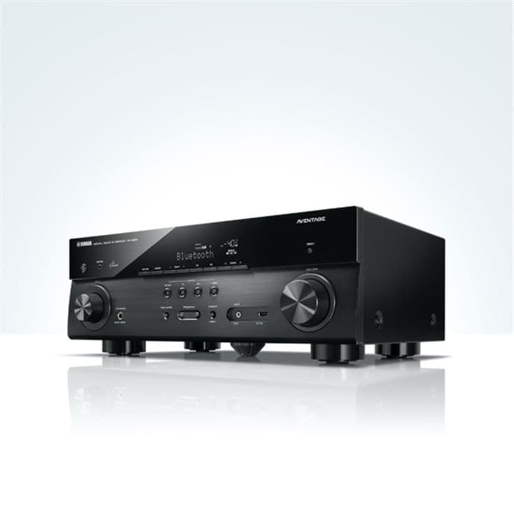 yamaha aventage rx a550 5 1 channel av receiver with 4k. Black Bedroom Furniture Sets. Home Design Ideas