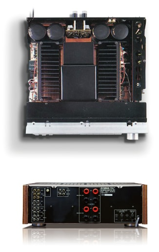 History of Integrated Amplifier - Yamaha - Other European Countries
