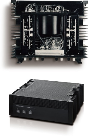 History of Separete Amplifier - Yamaha - Other European Countries