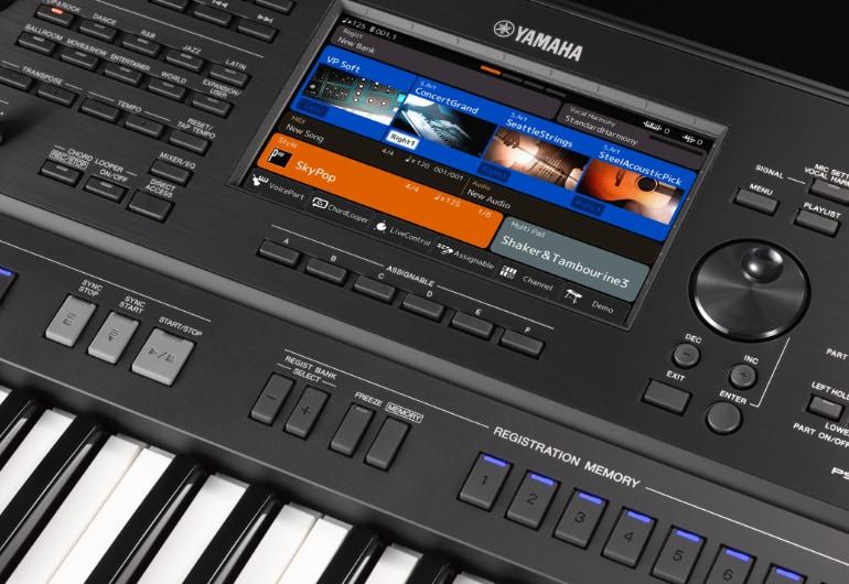 סדרת PSR-SX - תחנות עבודה עם תזמור מ-Yamaha