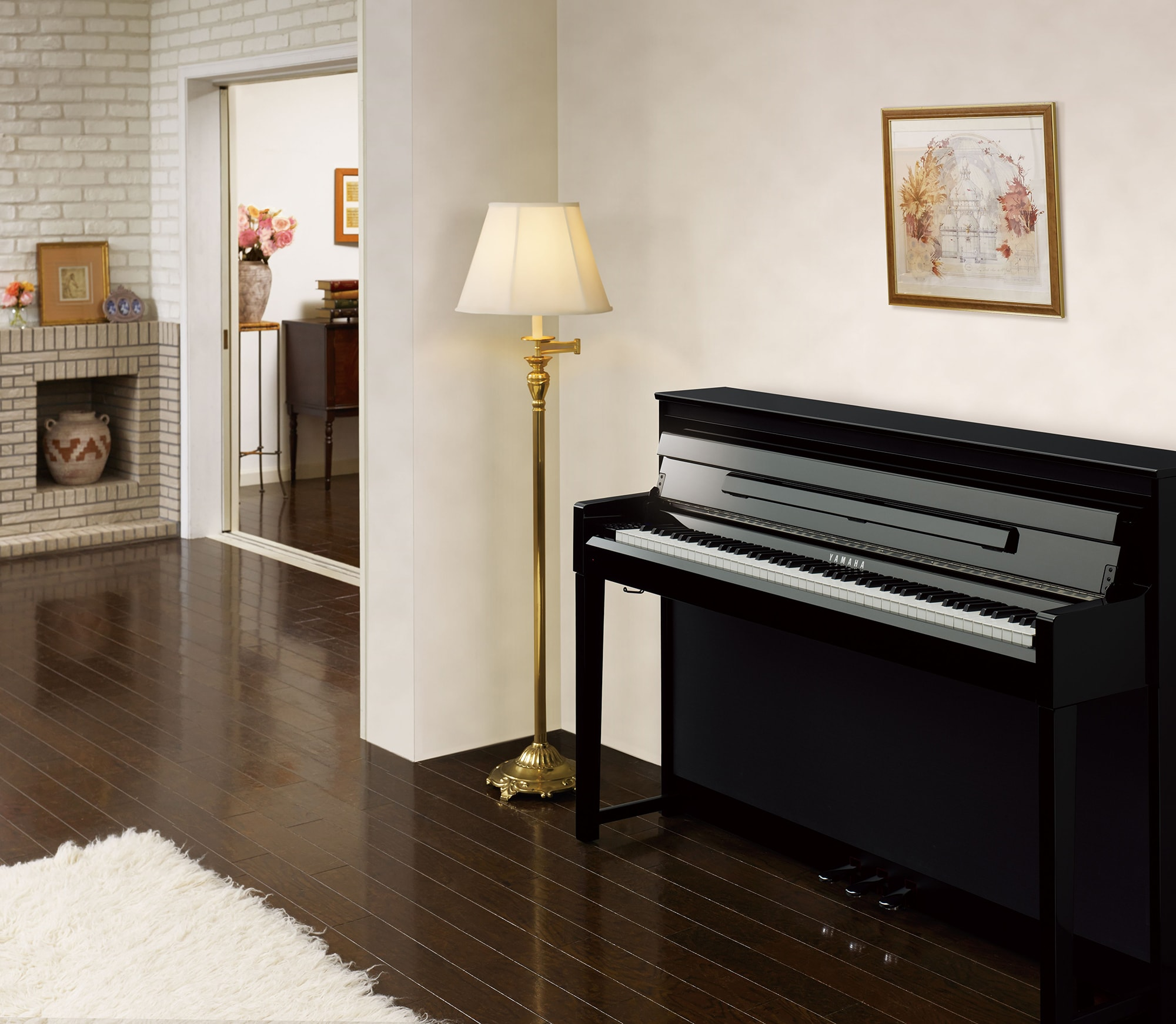 yamaha 39 s clavinova clp 585 receives red dot design. Black Bedroom Furniture Sets. Home Design Ideas