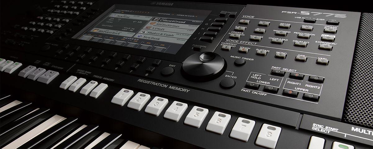 PSR-S775 - Yamaha Expansion Manager - Digital Workstations