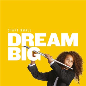 Image result for yamaha start small dream big