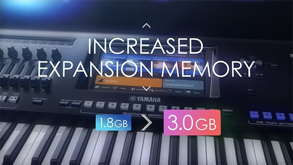 Increased Expansion Memory