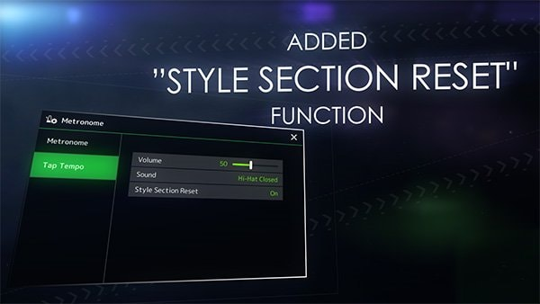 Style Section Reset