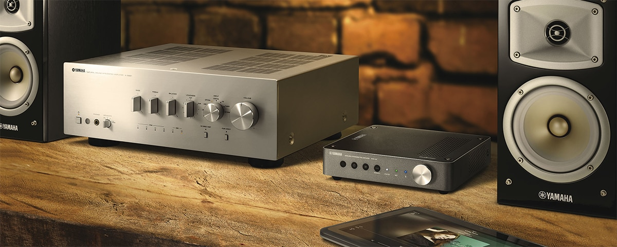 MusicCast WXC-50 - Overview - Wireless Streaming Amplifiers