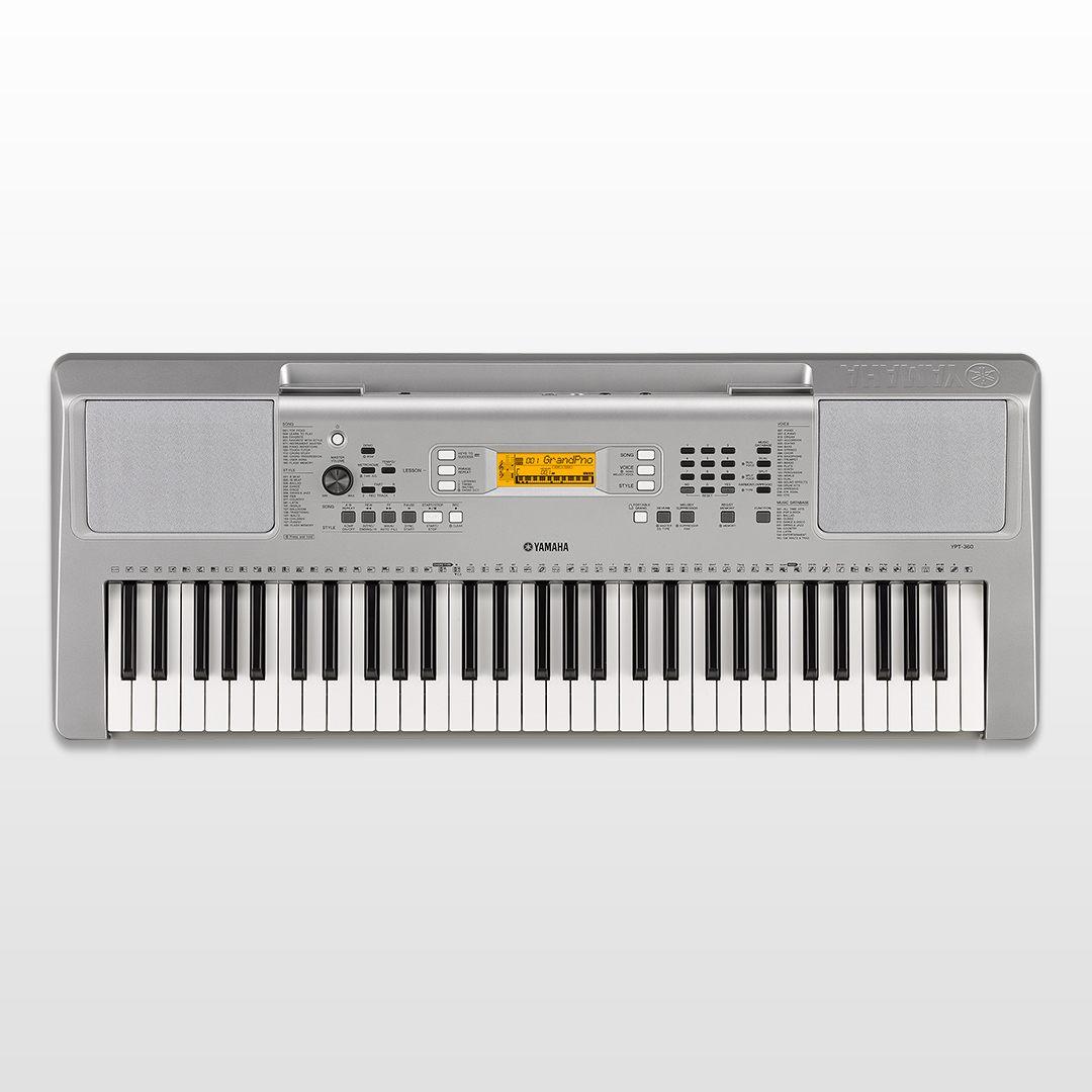 ypt 360 overview portable keyboards keyboard. Black Bedroom Furniture Sets. Home Design Ideas